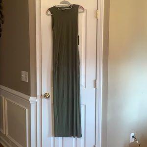 Green lulus dress. Never been worn.
